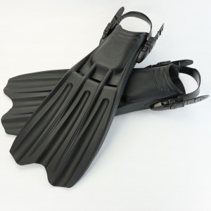 Fargerike Totem Military JetFin - Aquatec Black ProLight Fin