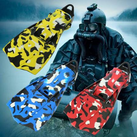 Scuba Militaire Jetfin Camouflage - Scuba Militaire Jetfin Camouflage