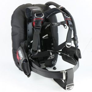 TecDive Backmount BCD - BC-932 Deep Ocean Wing (Black)