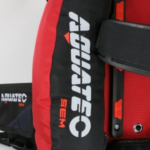Aquatec performance backmount BK/RD.