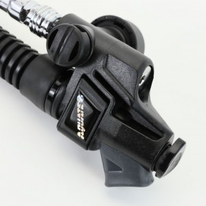 Aquatec power inflator for backmount diving