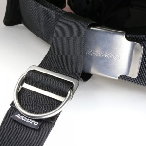 Crotch strap with SUS D-ring