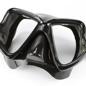 מסכה שחור שחור (BK) סקובה שחור מסכה התאום זכוכית עדשה