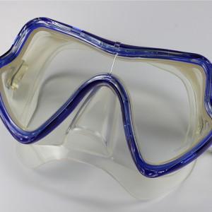 MK-600 (BK / BL) Scuba- Silikon Maske