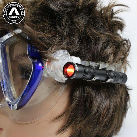 LED-1720 Scuba-painikekytkin Mini-valon naamion valo