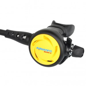 Diving Regulator Cadangan Disesuaikan - RG-3000S (Y) Diving Backup Tahap Kedua
