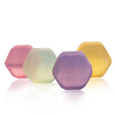 Hexagonal Shaped Soap Bar