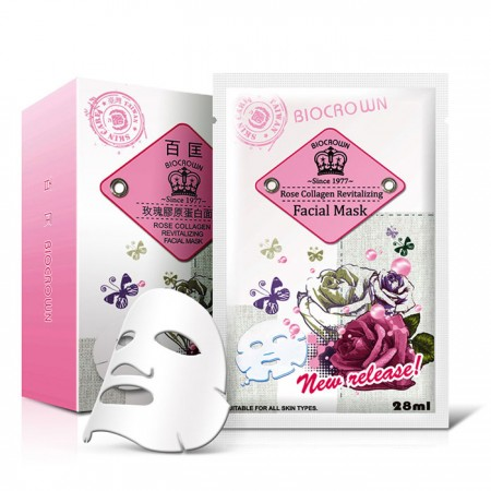 Rose Collagen Revitalizing Facial Mask