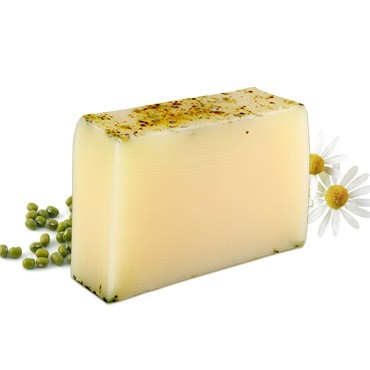 Moisturizing Handmade Soap - Chrysanthemum + Mung Bean