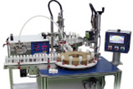Auto Liquid Filling Capper Machine