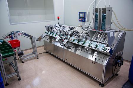 Automatic Sheet Mask Filling and Sealing Machine