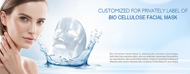 Bio Cellulose  Facial Mask  Manufacturer
