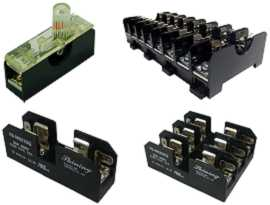 Fuse Blocks - Din Rail Mounted / Panel Mounted 10x38 / 6x30 Fuse Blocks