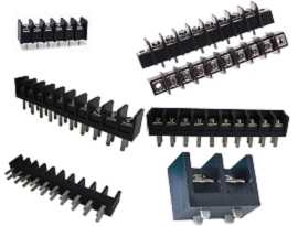 PCB Type Single Row Barrier Terminal Blocks - Single Row Barrier Terminal Blocks