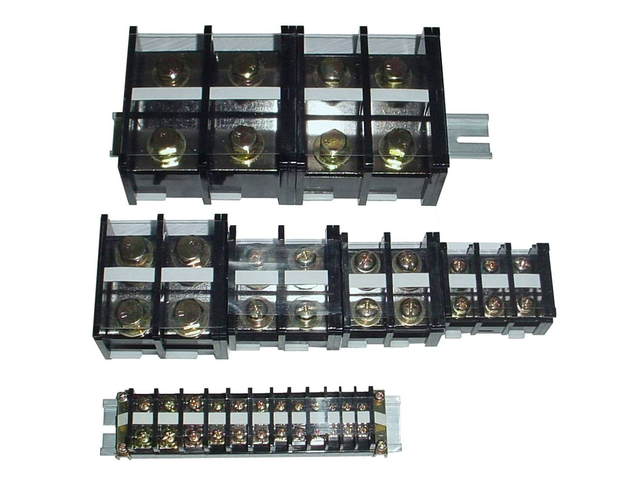 TE系列 軌道組合式端子台 - TE系列 35mm軌道組合式式端子台