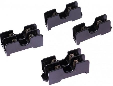 FB-601X系列 6x30 600V 15a 35mm 軌道式保險絲盒 - FB-6011 & FB-6012 6x30 600V 15a 35mm 軌道式保險絲盒