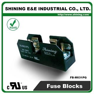 FB-M031PQ For 10x38mm Fuse 600V 30 Amp 1 Position Midget Fuse Block
