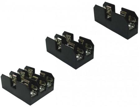 FB-M03XPQ系列 10x38 600V 30A 面板式保險絲盒 - FB-M031PQ & FB-M032PQ & FB-M033PQ 10x38 600V 30A 面板式保險絲盒