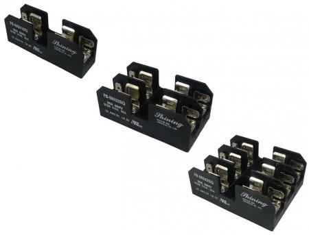 FB-M03XSQ系列 10x38 600V 30A 面板式保險絲盒 - FB-M031SQ & FM-M032SQ & FB-M033SQ 10x38 600V 30A 面板式保險絲盒