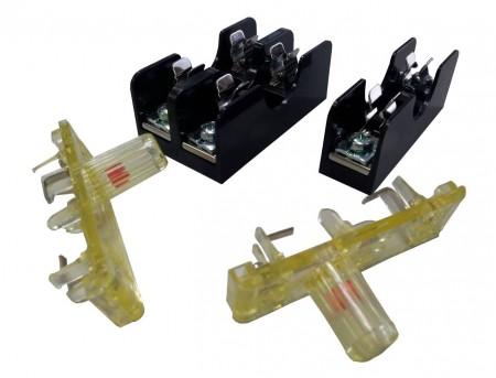 FS-01X系列 6x30 600V 10A 面板式保險絲盒 - FS-011 & FS-012 6x30 600V 10A 面板式保險絲盒