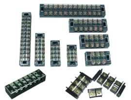 Panel Mounted Terminal Blocks - Panel Mounted Barrier Terminal Blocks