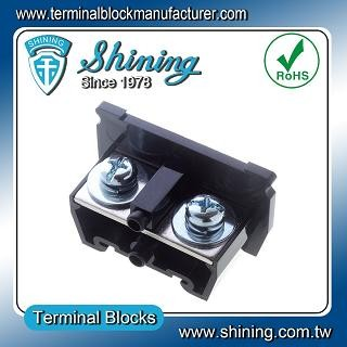 TA-100 35mm Din Rail Mounted Assembly Type 600V 100A Terminal Block