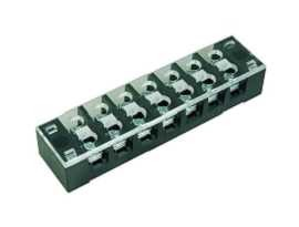 TB-335XXCP Series Panel Mounted Fixed Type Barrier Terminal Strips - TB-33507CP Panel Mounted Fixed Type Barrier Terminal Srtips