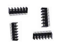 TBS-325XXCP Series PCB Type Single Row Barrier Terminal Blocks - TBS-32506CP Single Row Barrier Terminal Blocks