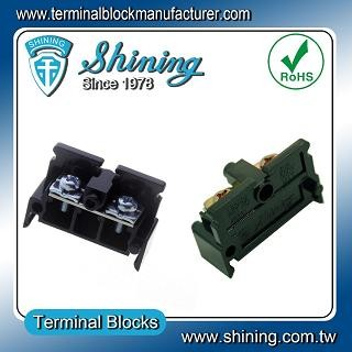 TE-030 35mm Din Rail Mounted Assembly Type 600V 30A Terminal Strip