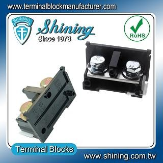 TE-200 35mm Din Rail Mounted Assembly Type 600V 200A Terminal Strip