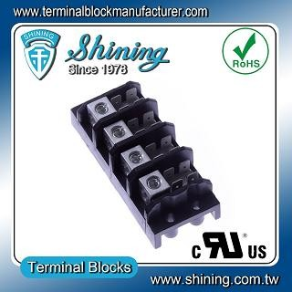 TGP-050-04A 600V 50A 4 Pole Electrical Power Terminal Block - TGP-050-04A Power Terminal Block