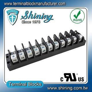 TGP-050-11A 600V 50A 11 Pole Electrical Power Terminal Block - TGP-050-11A Power Terminal Block