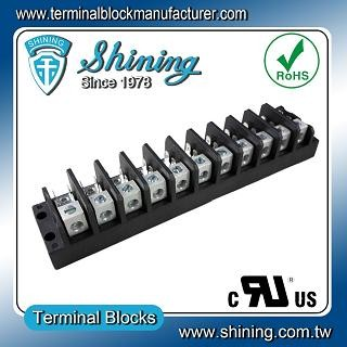 TGP-050-11A1 600V 50A 11 Pole Electrical Power Terminal Block - TGP-050-11A1 Power Terminal Block