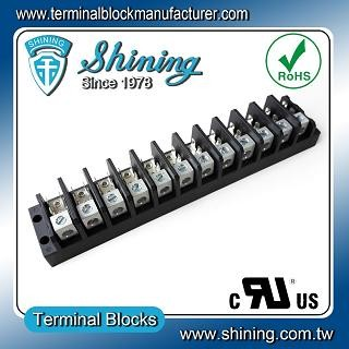 TGP-050-12A1 600V 50A 12 Pole Electrical Power Terminal Block - TGP-050-12A1 Power Terminal Block