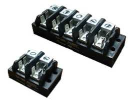 TGP-050-XXA1 Electrical Power Terminal Blocks - TGP-050-02A1 & TGP-050-05A1 Power Terminal Blocks