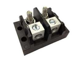 TGP-050-XXOS Electrical Power Splicer Stud Terminal Blocks - TGP-050-02O Power Splicer Stud Terminal Blocks