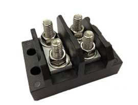 TGP-050-XXP Electrical Power Stud Terminal Blocks - TGP-050-02P Power Stud Terminal Blocks