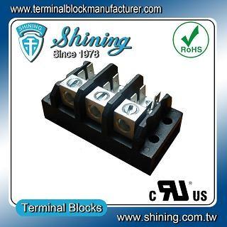 TGP-085-03A1 600V 85A 3 Pole Electrical Power Terminal Block - TGP-085-03A1 Power Terminal Block