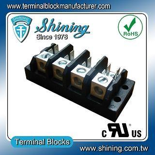 TGP-085-04A1 600V 85A 4 Pole Electrical Power Terminal Block - TGP-085-04A1 Power Terminal Block