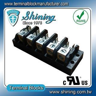 TGP-085-05A1 600V 85A 5 Pole Electrical Power Terminal Block - TGP-085-05A1 Power Terminal Block