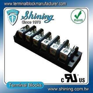 TGP-085-06A1 600V 85A 6 Pole Electrical Power Terminal Block - TGP-085-06A1 Power Terminal Block