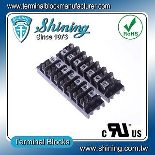 TGP-085-07A1 600V 85A 7 Pole Electrical Power Terminal Block - TGP-085-07A1 Power Terminal Block