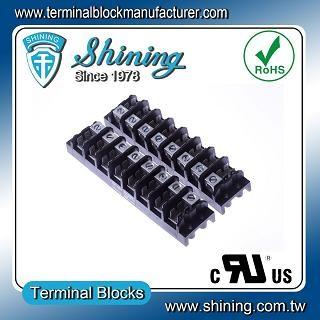 TGP-085-08A1 600V 85A 8 Pole Electrical Power Terminal Block - TGP-085-08A1 Power Terminal Block