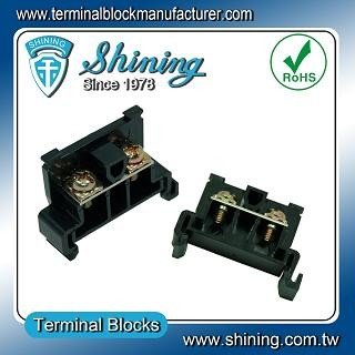 TR-20 35mm Rail Mounted Snap On Type 600V 20A Terminal Block Connector