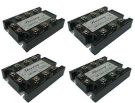 SSR-TXXAA Series Three Phase Solid State Relay, AC to AC - SSR-TXXAA Series AC to AC Type Three Phase Solid State Relay