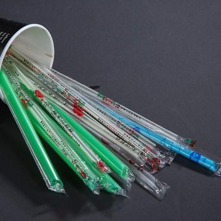 單支吸管專用自動包裝膜 - 單支吸管專用自動包裝膜