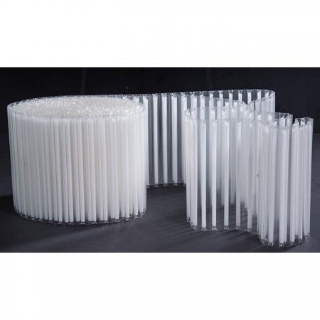 U型吸管膜 - 單支吸管專用自動包裝膜 - 單面熱封BOPP薄膜