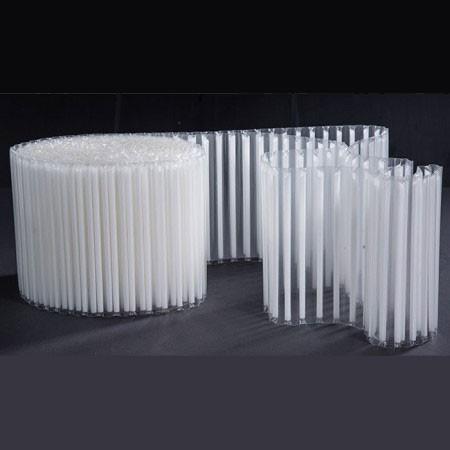 U Shape Drinking Straws Films - Heat Sealable Film Drinking Straws