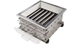 Drawer POWER SEPARATOR –Magnetic filtering  Removal of metal contaminants