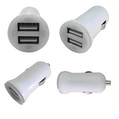 COMPACT DUAL USB CHARGER